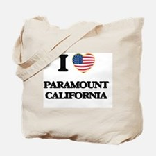 I love Paramount California USA Design Tote Bag