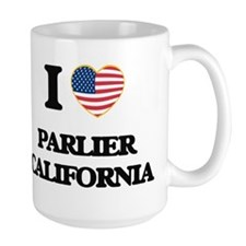 I love Parlier California USA Design Mugs