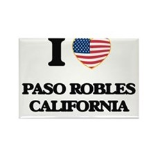 I love Paso Robles California USA Design Magnets