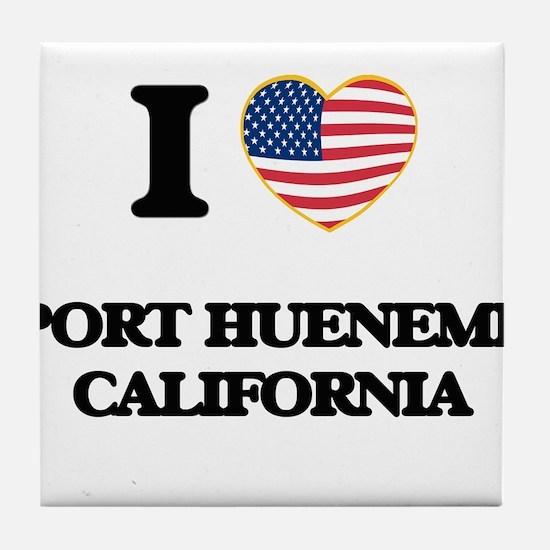 I love Port Hueneme California USA De Tile Coaster