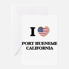 I love Port Hueneme California USA Greeting Cards