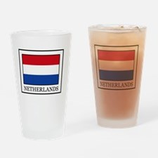 Netherlands Drinking Glass