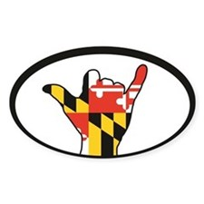 Hang Loose Maryland Decal
