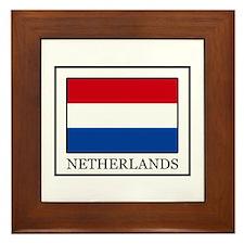 Netherlands Framed Tile