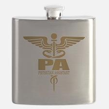 PA Gold Flask