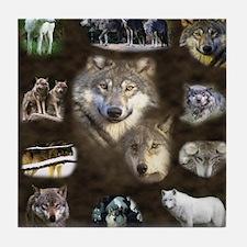 Wolfpack2 Tile Coaster