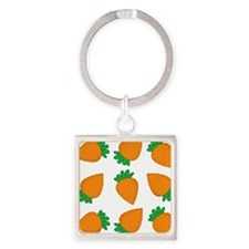 Orange Carrots Keychains