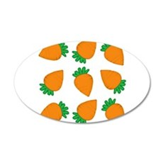 Orange Carrots Wall Decal