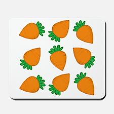 Orange Carrots Mousepad