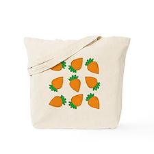 Orange Carrots Tote Bag
