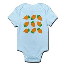 Orange Carrots Body Suit