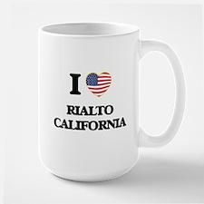 I love Rialto California USA Design Mugs