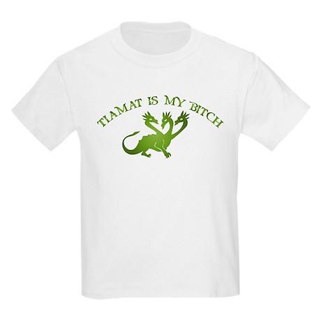 Tiamat Is My Bitch Kids Light T-Shirt