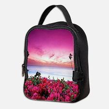 Unique Floral Neoprene Lunch Bag