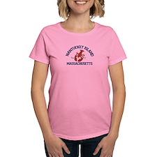 Nantucket - Massachusetts. Women's Dark T-Shir