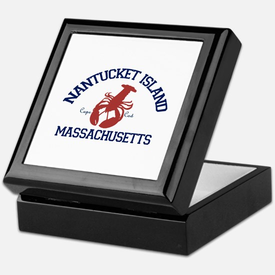 Nantucket - Massachusetts. Keepsake Box