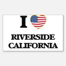 I love Riverside California USA Design Decal
