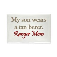 Cute Army ranger mom Rectangle Magnet