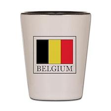 Belgium Shot Glass