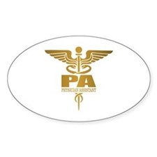 PA Gold Decal