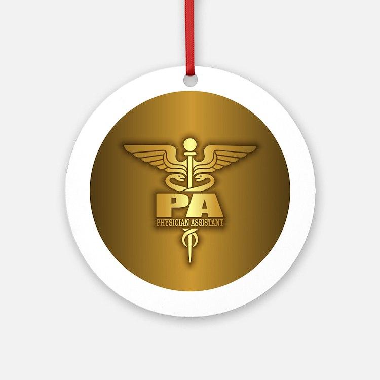 PA Gold Ornament (Round)
