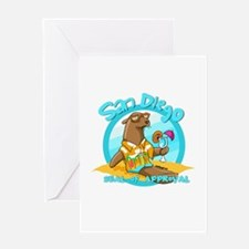 San Diego Seal of Approval Greeting Cards