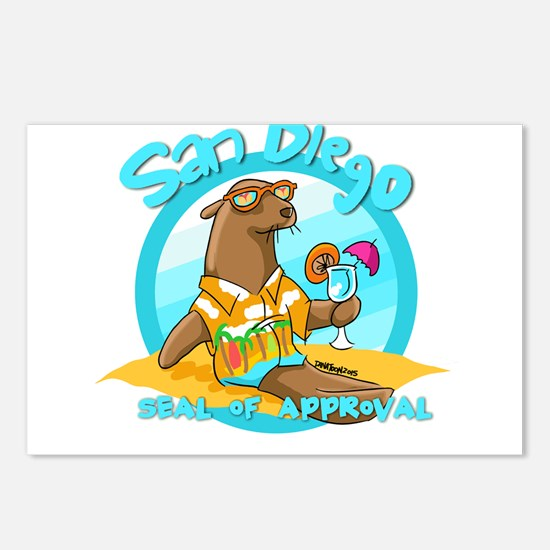 San Diego Seal of Approval Postcards (Package of 8