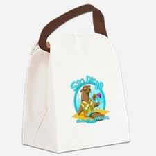 San Diego Seal of Approval Canvas Lunch Bag
