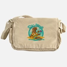 San Diego Seal of Approval Messenger Bag