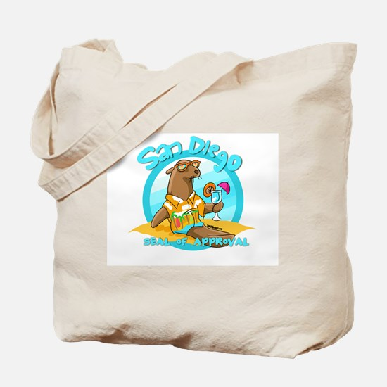 San Diego Seal of Approval Tote Bag