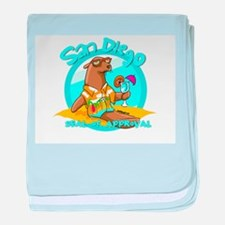 San Diego Seal of Approval baby blanket