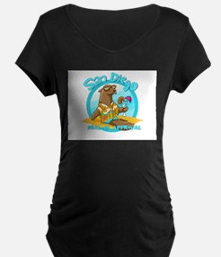San Diego Seal of Approval Maternity T-Shirt