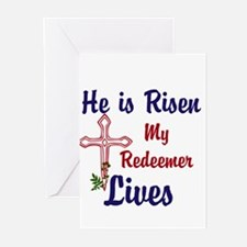 He is Risen Greeting Cards