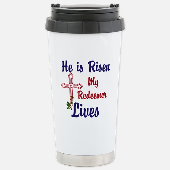 He is Risen Travel Mug
