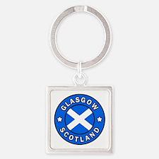 Scotland Square Keychain