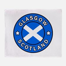 Scotland Throw Blanket