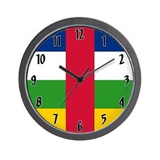 Central African Republic Wall Clock