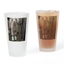 Cute Goat t Drinking Glass