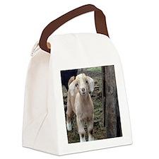 Cute Goat Canvas Lunch Bag