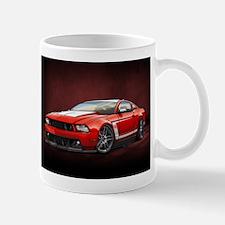 Boss 302 Red W Mugs