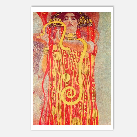 Gustav Klimt Medicine Postcards (package Of 8)