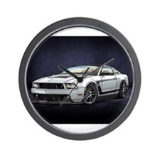 Boss 302 White Wall Clock