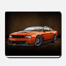 Boss 302 Orange B Mousepad