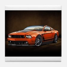 Boss 302 Orange B Tile Coaster