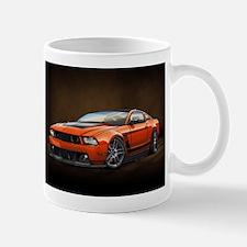Boss 302 Orange B Mugs