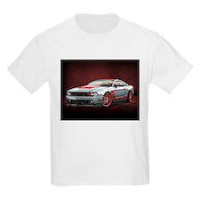 Boss 302 Laguna Seca Silver T-Shirt