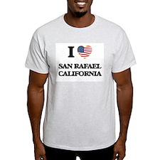 I love San Rafael California USA Design T-Shirt