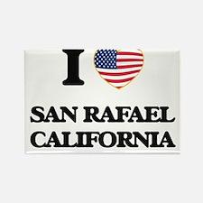 I love San Rafael California USA Design Magnets