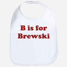 B is for Brewski Bib