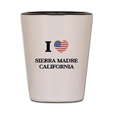 I love Sierra Madre California USA Desi Shot Glass